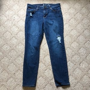Gap Distressed Skinny Jean